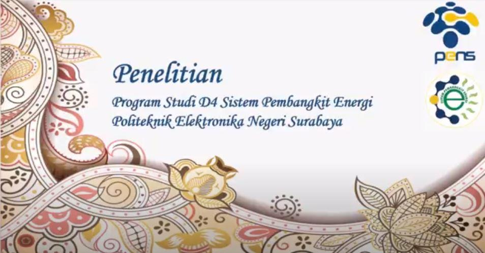 Penelitian Program Studi Sistem Pembangkit Energi