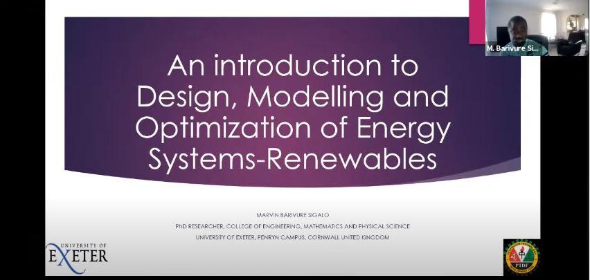 SPE Helat Webinar untuk Memberikan Kuliah Umum yang Bermateri Desain, Modeling, dan Optimasi dari Sistem Energi Terbarukan