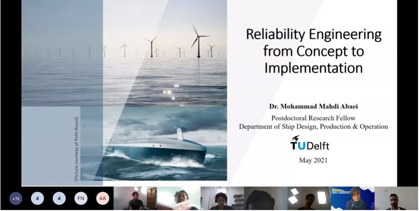 """Prodi Sistem Pembangkit Energi Mengadakan Kuliah Tamu """"Reliability Engineering from Concept to Implementation"""""""